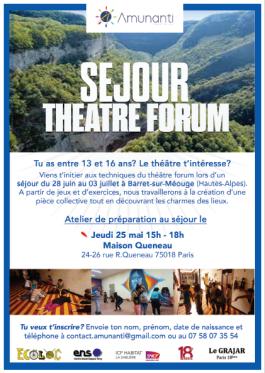 image sejour theatre forum